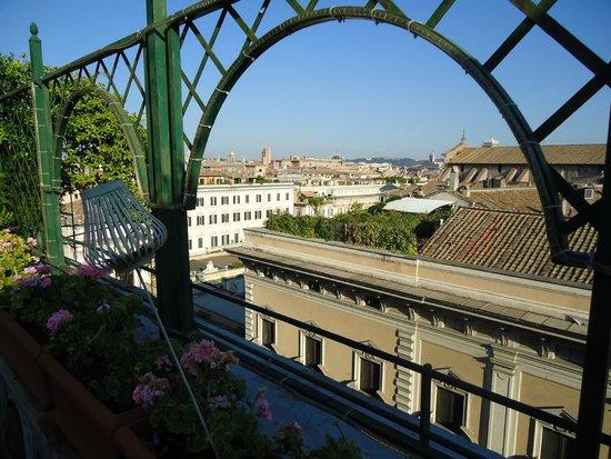 Cosmopolita Hotel: Roof top terrace view