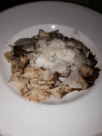 Mario's Place: Duck Pappardelle - yum!