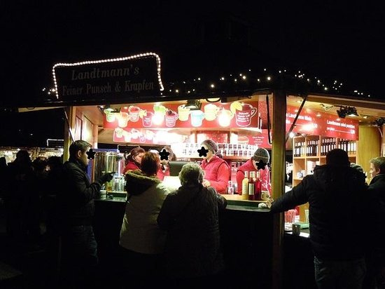 Schoenbrunn Palace Christmas Market : グリューワインは数種類