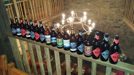 Leny Estate Self-Catering : A visit to the nearby Real Ale shop is always a good idea