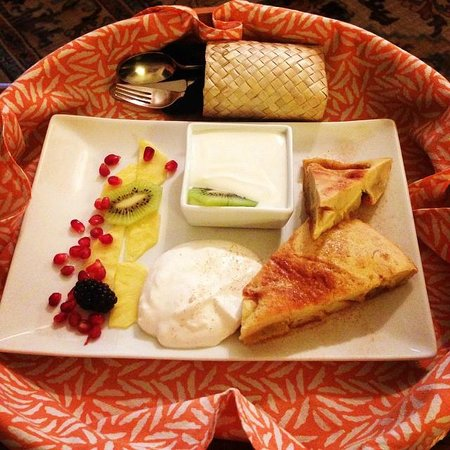ASIA Bed and Breakfast Spa : Breakfast