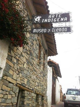 La Recoleta: Museu de arte índigena