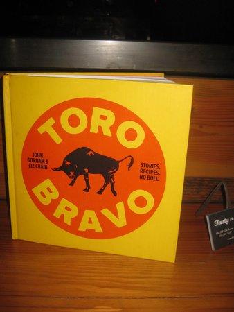 Toro Bravo: Menu