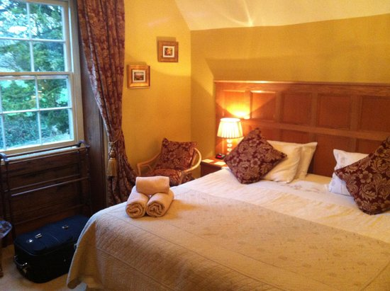The Old Vicarage Country House Bed & Breakfast: Our lovely panelled room