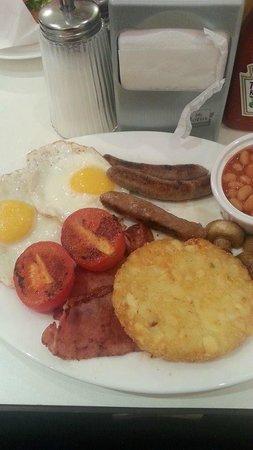 Ed's Easy Diner - Lakeside : nasty breakfast