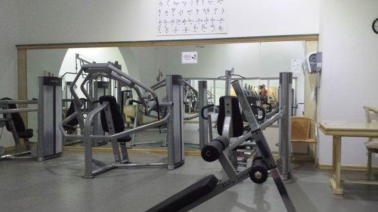 Bodrium Hotel & Spa: the gym