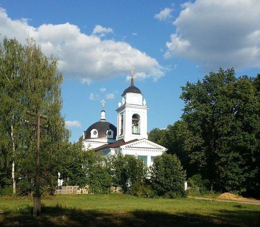 Bogorodskoye, Rússia: Вид на Церковь Покрова Пресвятой Богородицы