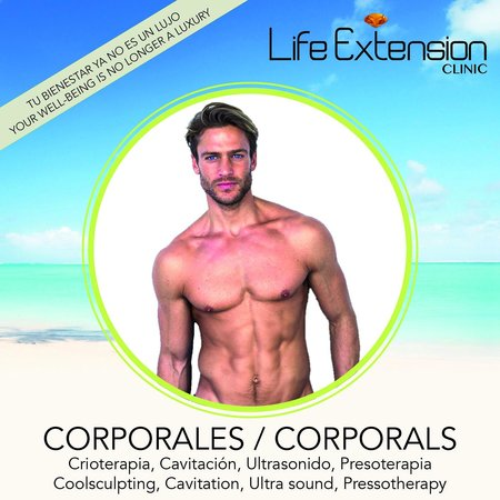 Life Extension Clinic: Corporal treatments
