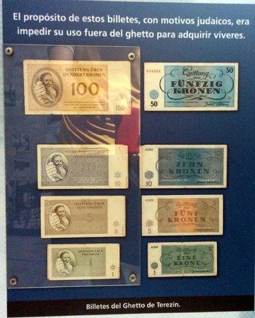 Museo del Holocausto: Notas usadas nos guetos judaicos para restringir o comércio