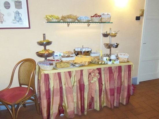 Alla Dimora Lucense: breakfast service