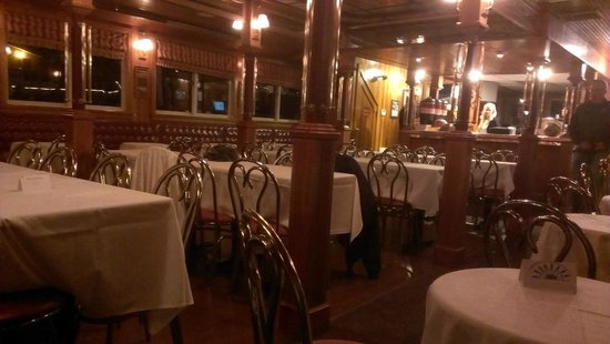 Pride of the Susquehanna: Dining area