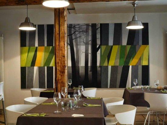 Verreveine: La salle du restaurant