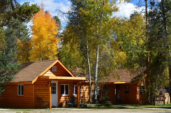 Daven Haven Lodge & Cabins : Cabins in Fall