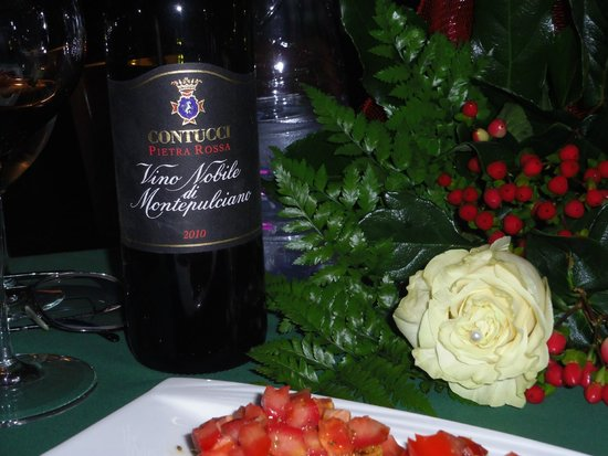 Godimento DiVino : great wines and flowers for my birthday!