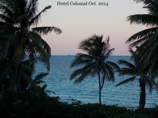 Hotel Colonial Cayo Coco : View from our room