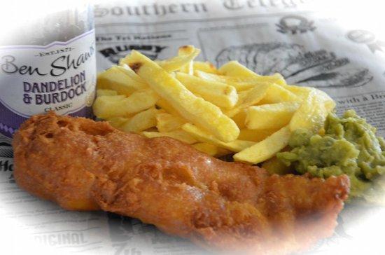 Traditional English Fish and Chips - Picture of Fishbox Fish & Chips, Tauranga - TripAdvisor