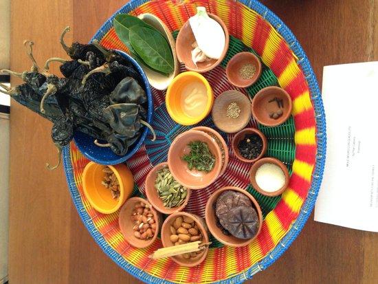 La Casa de los Sabores Cooking School: Can you name at least 10 ingredients for Mole Negro