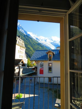 Chalet Blanche: View from balcony.  Wow!