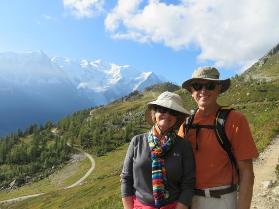 Chalet Blanche: Hiking Grand Bacon Sud