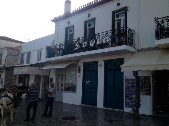 Hotel Sophia: Hotel facade