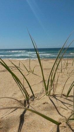 Ramada Resort Diamond Beach: The beach outside the Ramada gates