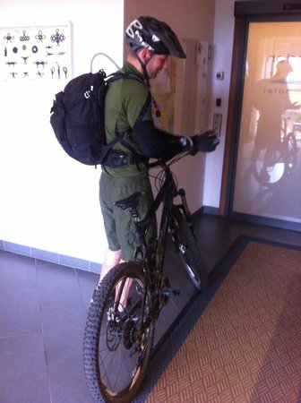 Hotel Garden: ready to go - mountain bike
