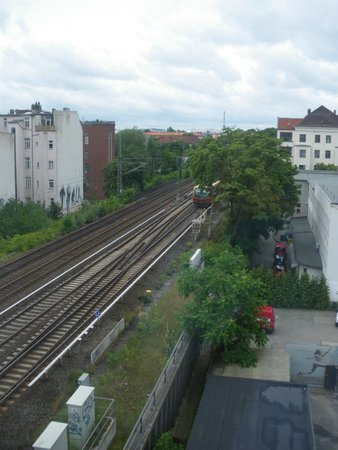 EnergieHotel Berlin: la vue de notre chambre