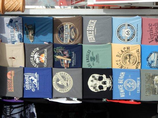 Venice Beach Boardwalk T Shirts