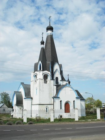 Novokharitonovo, Russia: Храм Георгия Победоносца в Новохаритоново