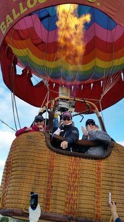 Santa Fe Balloon Company : Up Up and away!