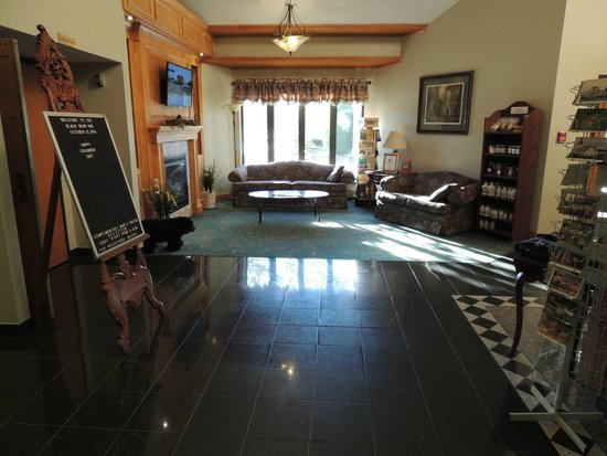 Black Bear Inn and Conference Center: Welcome area