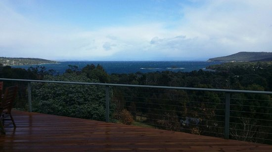 Storm Bay Guest House : The view from where we ate.