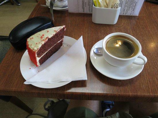 Chilli Jam Cafe: Chili Jam Cafe Red Velvet Cake