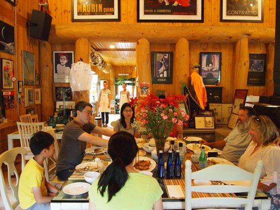 Private Hotel + Pure Food Villa: Breakfast, July 2014