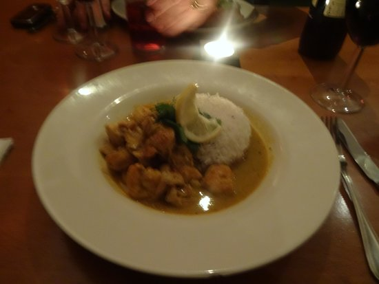 Bed Restaurant : Fish curry
