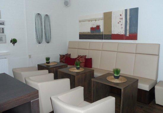 Arthotel Bakker: Kaffee-Lounge