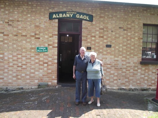 The Albany Convict Gaol & Museum : Its ok, we are only visiting
