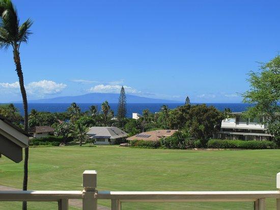 Wailea Grand Champions Villas: Ocean and Island Lanai view from valcony
