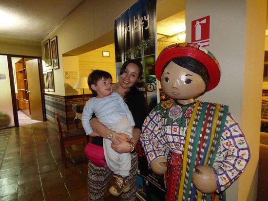 Porta Hotel Del Lago: Recepción