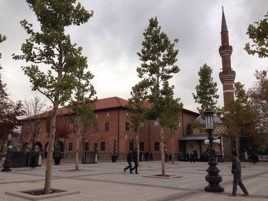 Haci Bayram Mosque (Haci Bayram Camii): The Historic Gem of Ankara.