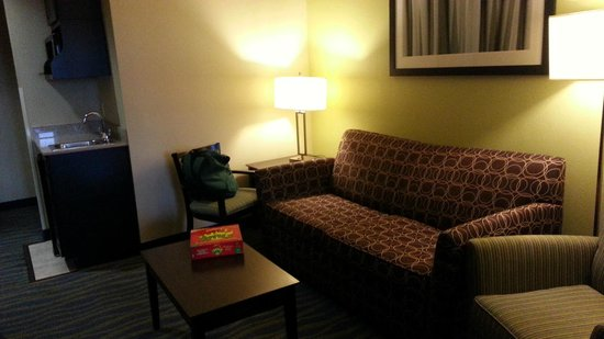 Holiday Inn Express & Suites: Sitting area of suite
