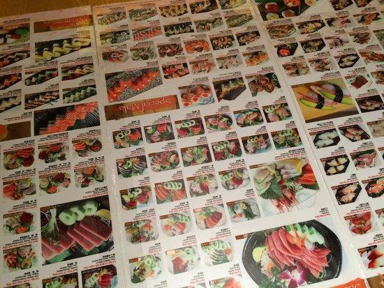 Ground floor photo de asahi sushi japanese restaurant for Accord asian cuisine menu