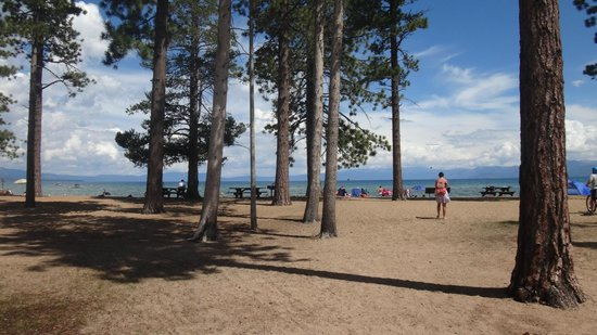 Lake Tahoe Nevada State Park: Chegando no Lago