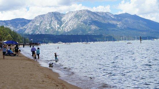 Lake Tahoe Nevada State Park: As montanhas