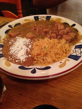 Chili Verde Picture Of La Hacienda Mexican Restaurant Gilroy TripAdvisor