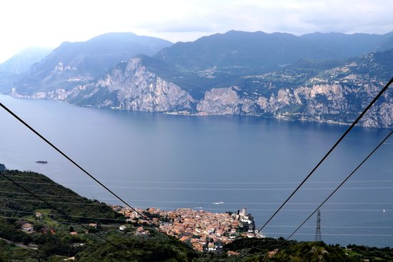 View From The Cable Car Picture Of Monte Baldo Malcesine
