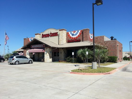 Spring Creek Barbeque : Spring Creek in League City