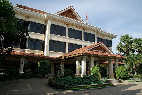 Khemara Angkor Hotel & Spa: 正面