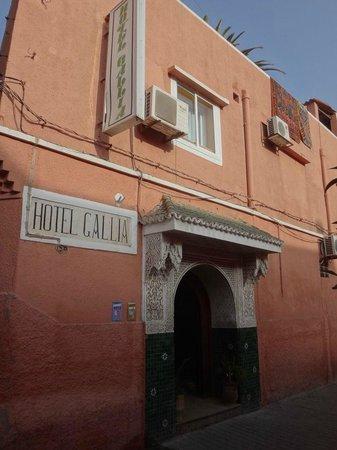 Le Gallia : 入り口