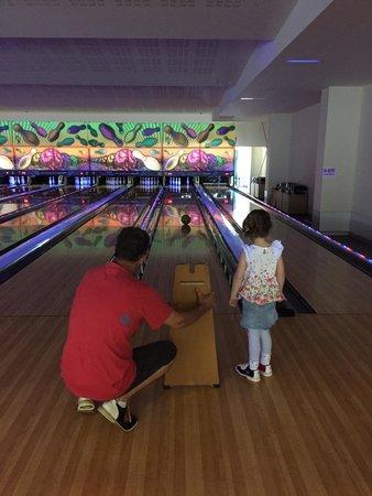Dunn Lewis Centre: Bumper bowling